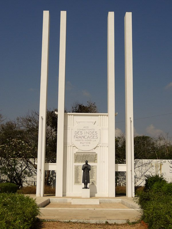World War 1 Memorial For French Indians