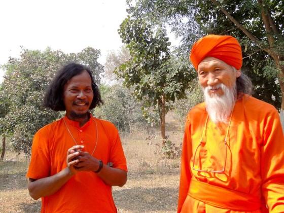 Happy Monks
