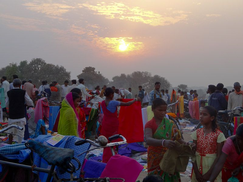 Local Market Sunset