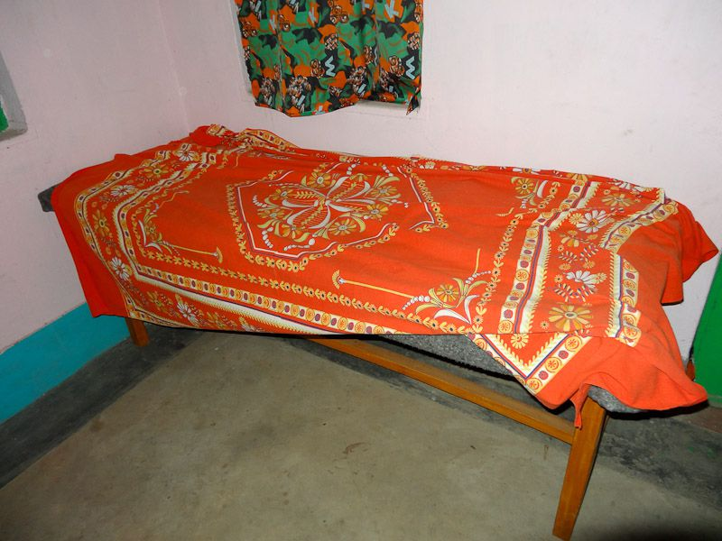 My Bed (A Wooden Table)