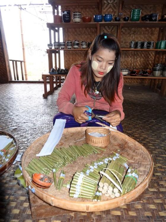 Thanaka In Myanmar