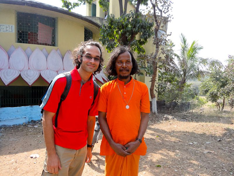 With A Monk