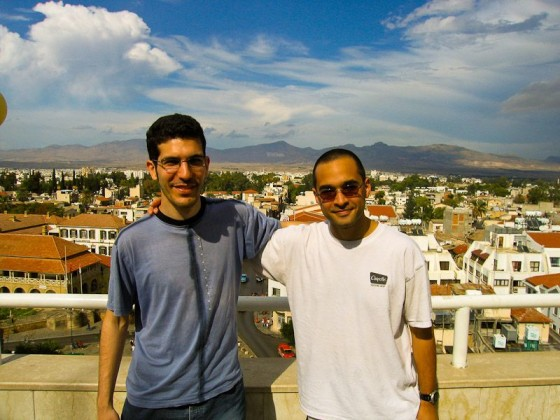 With Adil In Cyprus