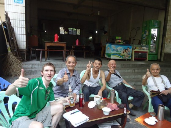 Drinking With Locals In Chongqing, China