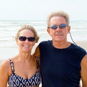 Anita & Oliver At Home In Padre Island National Seashore, Texas