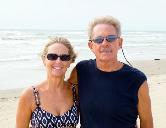 Anita & Oliver At Home In Padre Island National Seashore, Texas
