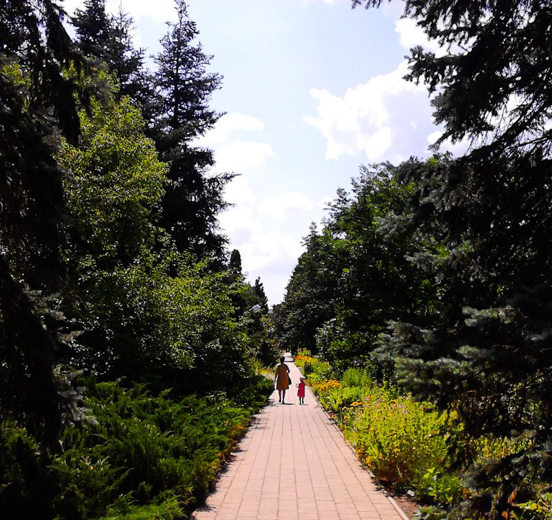 Mother And Daughter In Nature - Taken 18-Jul-2013 - Debrecen, Hungary