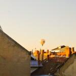 Balloon Out My Window - Taken 22-Jul-2013 - Debrecen, Hungary
