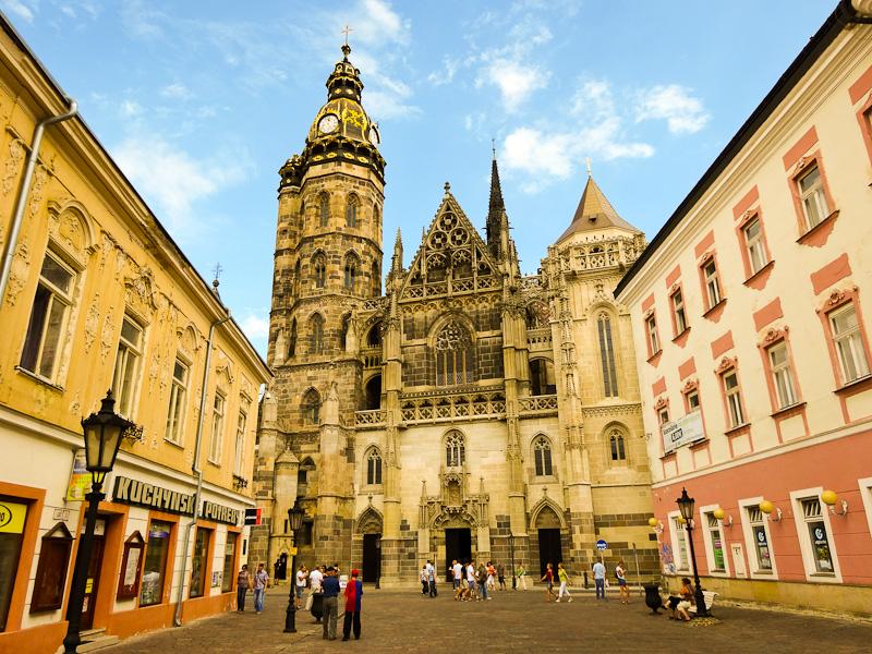 St. Elizabeth's Cathedral - Taken 13-Aug-2013 - Kosice, Slovakia