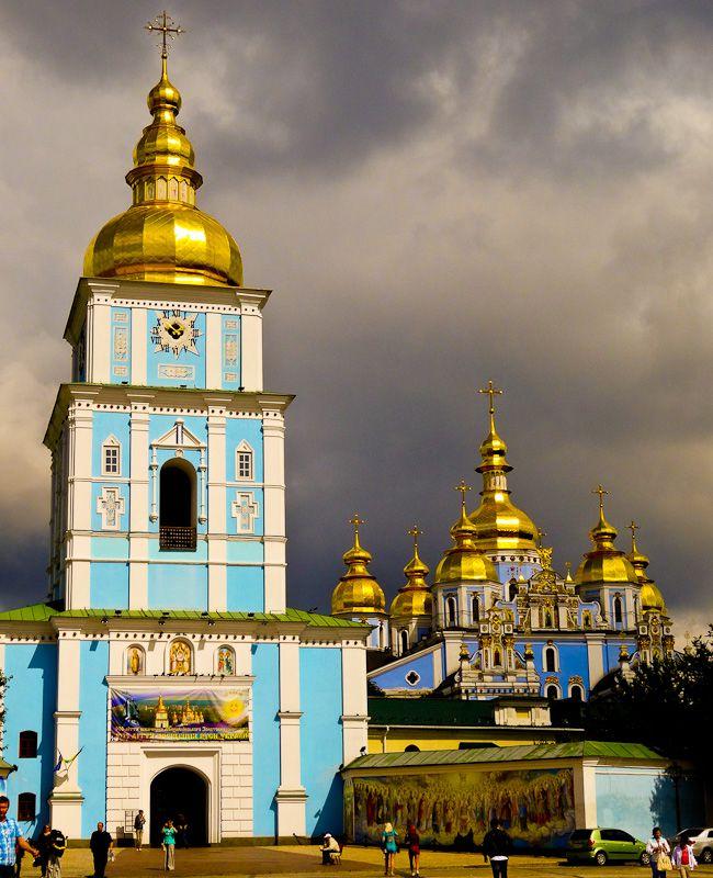 St. Michael's Monastery - Taken 27-Aug-2013 - Kiev, Ukraine