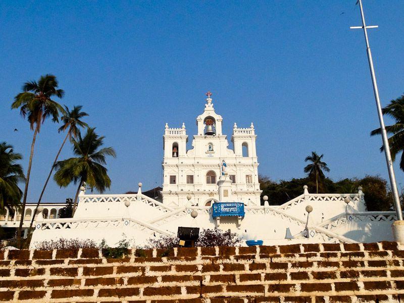 A Church In Panjim