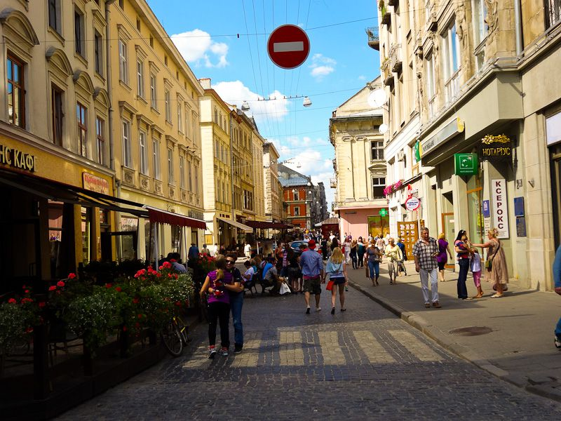Lviv's Streets