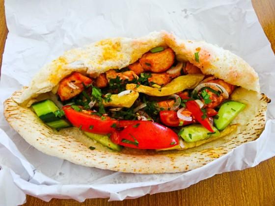 Anibal's Shish Tawook Sandwich