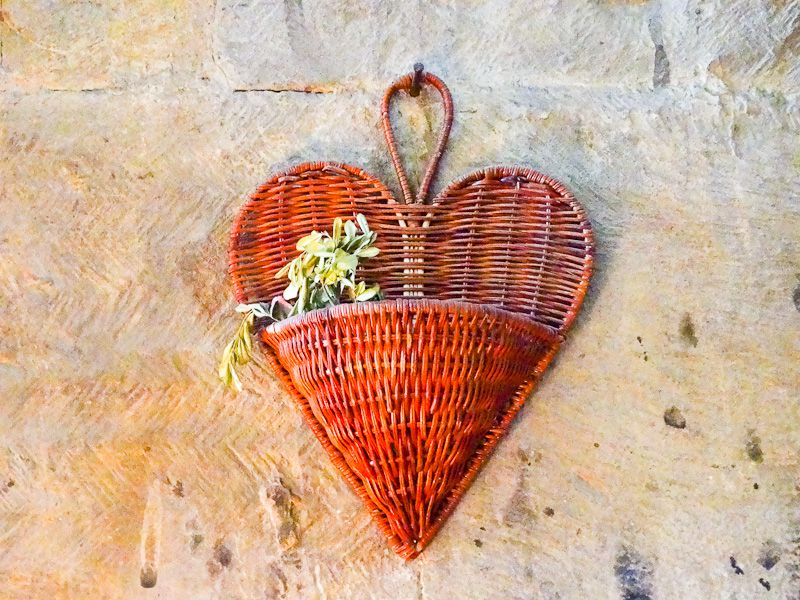 Heart And Plant Inside Church