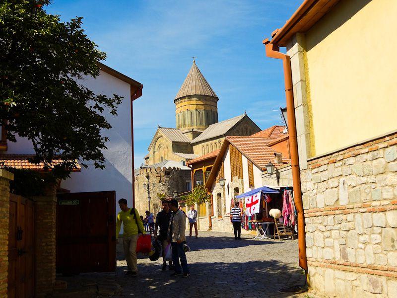 Svetitskhoveli Cathedral From Inside Mtskheta
