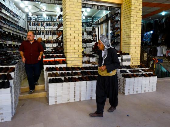 Kurdish Man In A Market In Erbil, Iraq