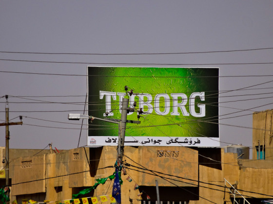Tuborg Advertisement