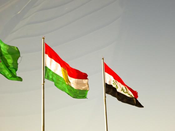 Kurdistan & Iraq Flags