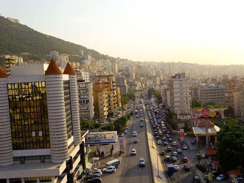 Above Beirut