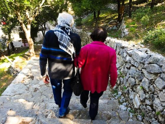 George And Teresa At St Charabel Monastery