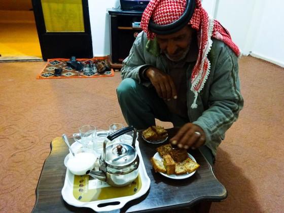 Mefleh Serving Tea