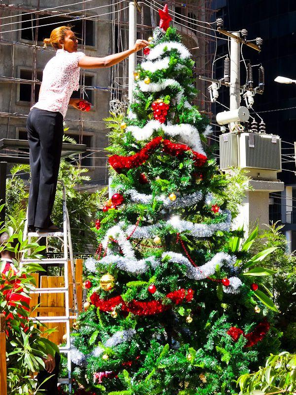 Christmas Tree - Taken 17-Dec-2013 - Addis Ababa, Ethiopia