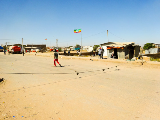 A String Separating Ethiopia And Somalia