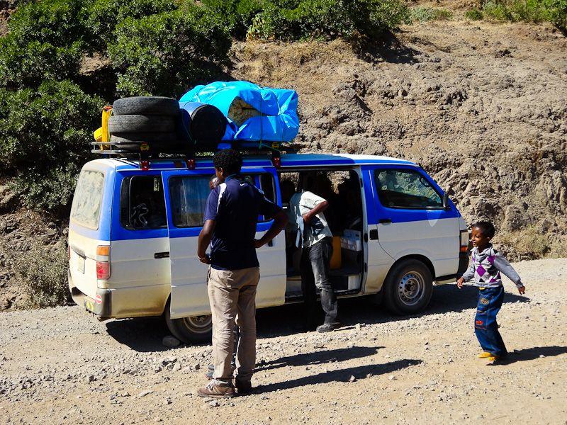 Minibus To Lalibela