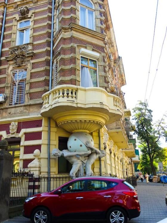 Cool Building Corner