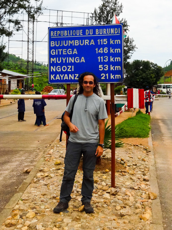 Crossing Into Country #80 - Burundi