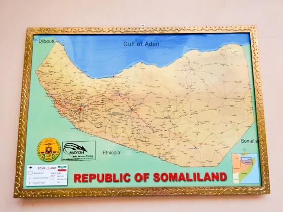 Map Of Somaliland