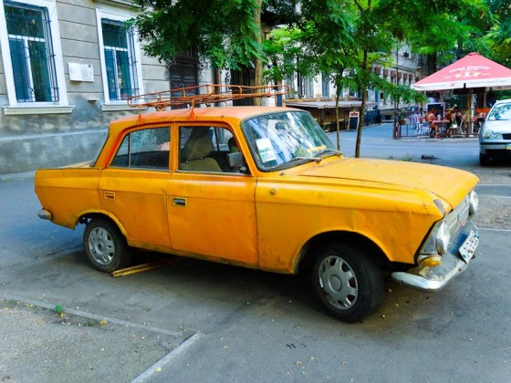 Old Soviet-era Car