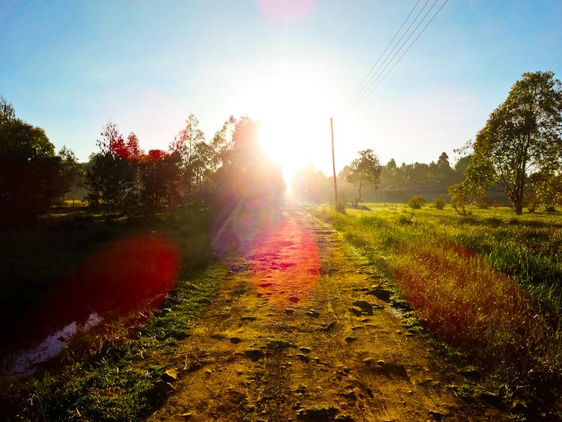 Kenyan Sunrise - Taken 7-Jan-2014 - Eldoret, Kenya