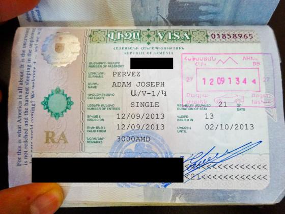 Armenia Visa