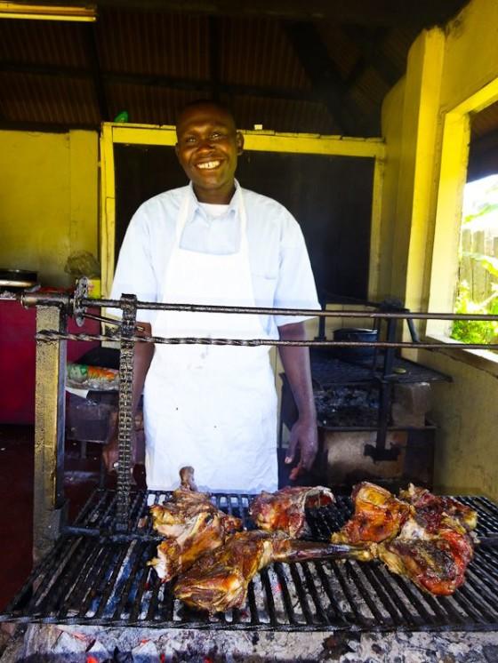 Cooking Nyama Choma