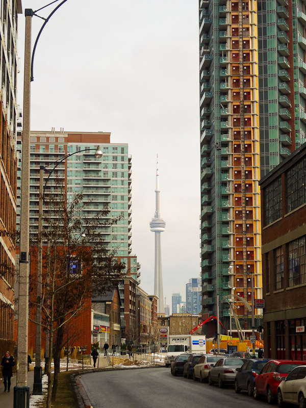 Toronto's CN Tower In The Distance