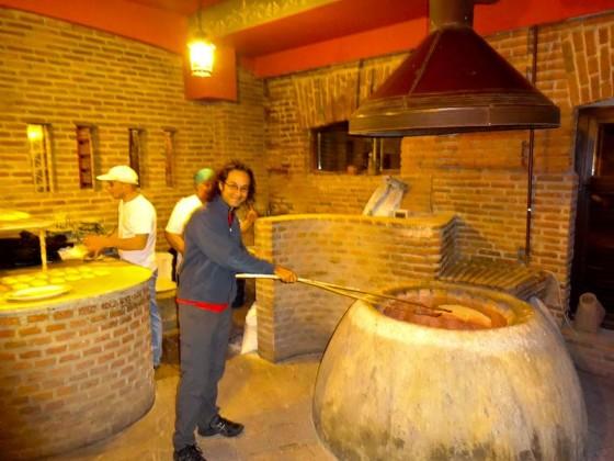 Cooking Georgian Bread (1)