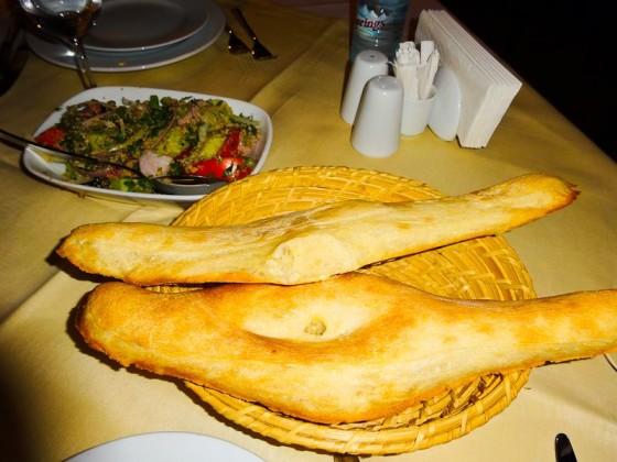 Cooking Georgian Bread