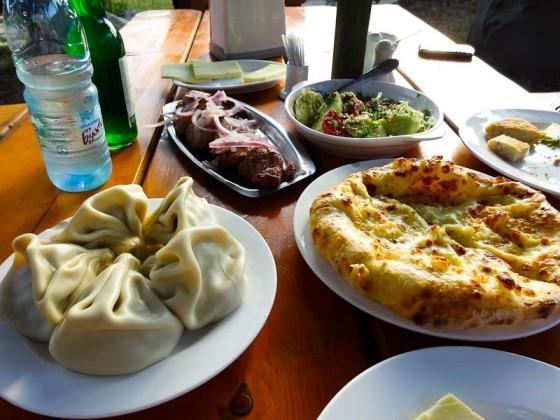 Khinkali, Khachapuri, And Kebab