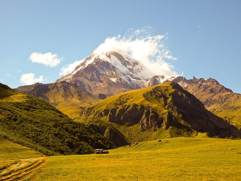 Mt Kazbegi
