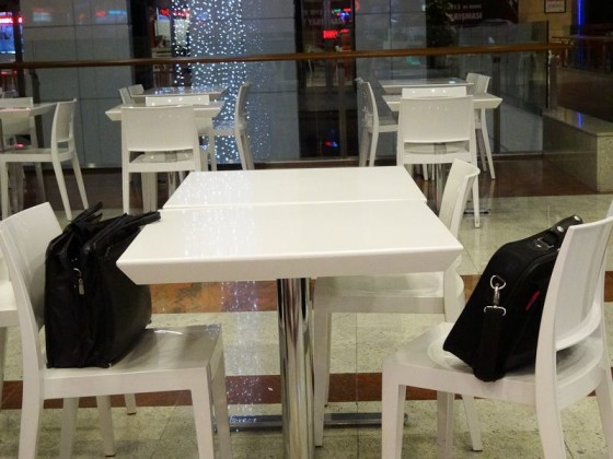 Safe Place - Left Laptops In A Mall Food Court