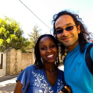 With Layla, A Supremely Kind Ethiopian