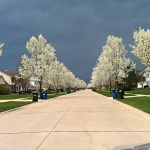Storms On The Horizon - Taken 6-May-2014 - Cleveland, OH, USA