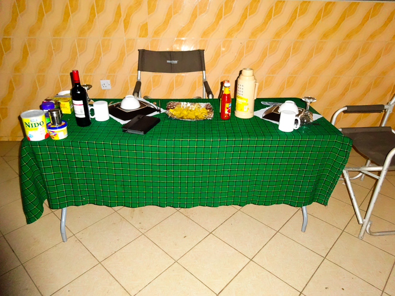 The Dinner Table Each Night