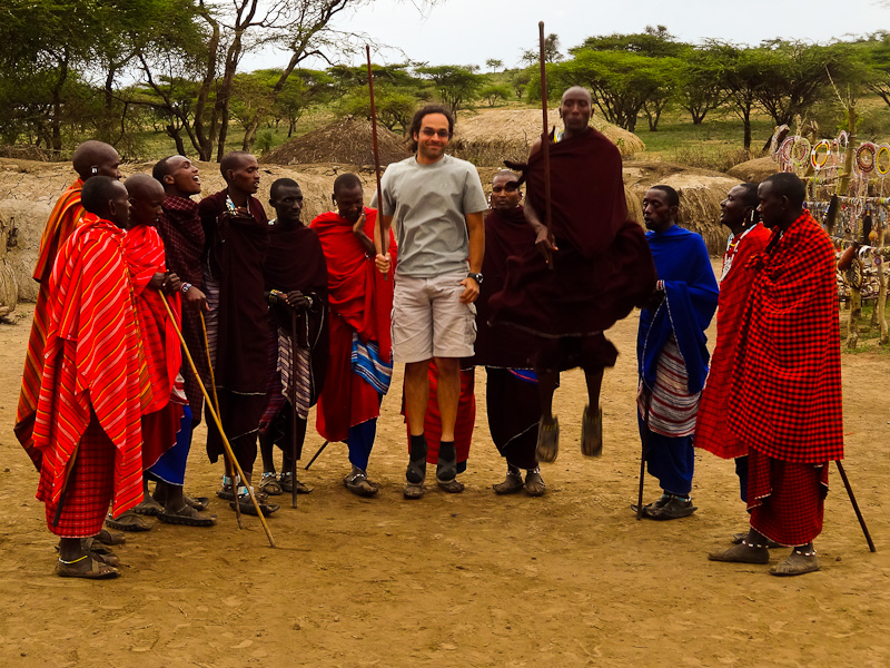 Jumping With Masai Warriors