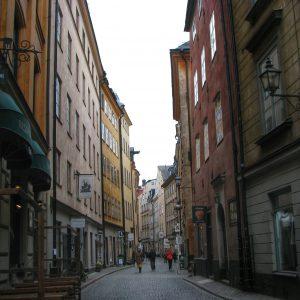 Colorful Old Stockholm - Taken 8-Apr-2011 - Stockholm, Sweden