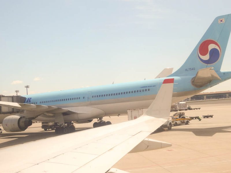 Air Koryo And Korean Air Side-By-Side In Beijing
