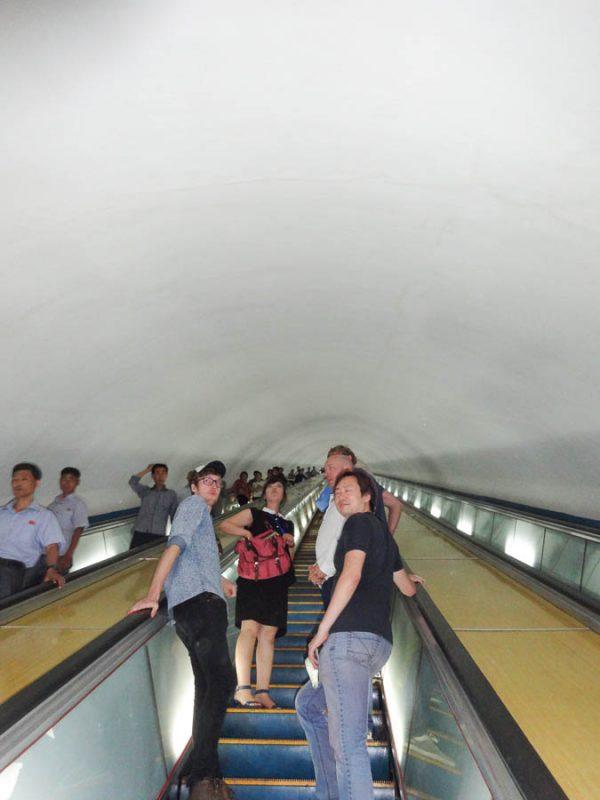 Ascending The Never-ending Escalator