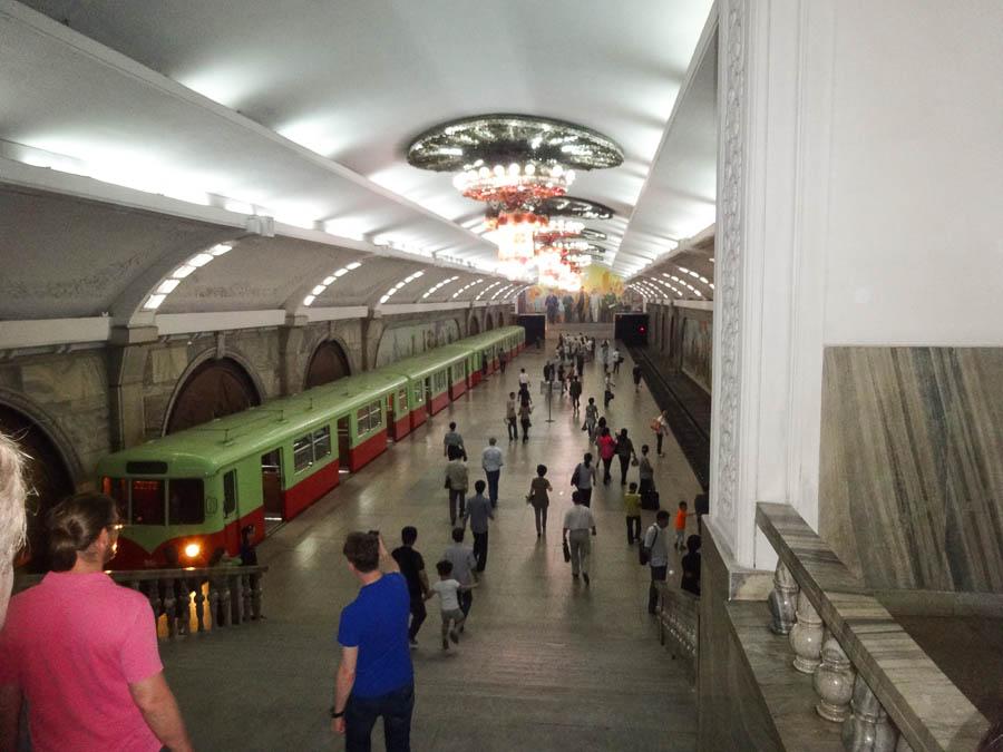Inside A Station