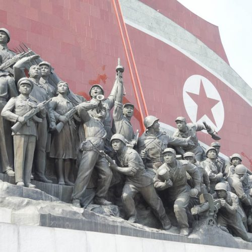 Monument Next To The Leaders